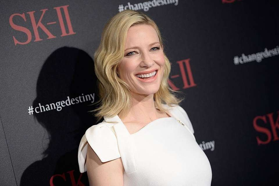 Cate Blanchett makes the No. 27 spot with