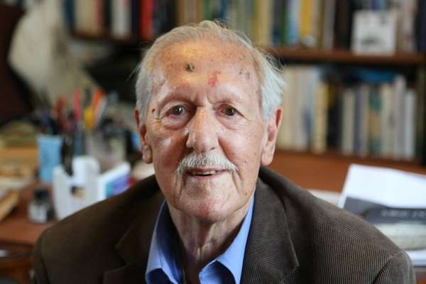 Brian Aldiss, above in 2015, was the influential