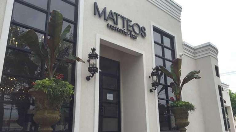 The fully remodeled Matteos on Jericho Turnpike in