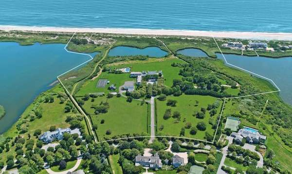 The 42-acre Southampton estate, originally owned by Henry