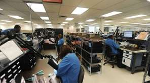 Telephonics Corp. in Farmingdale saw sales in 2016's