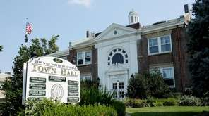North Hempstead Town Hall on Sept. 1, 2015.