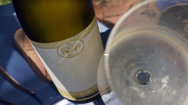 Palmer Vineyards' unlabeled