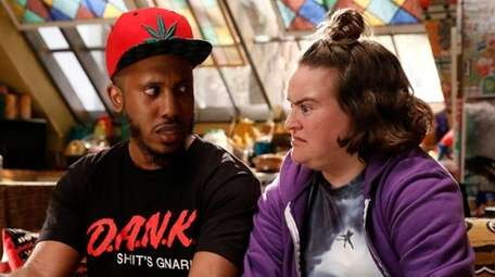 Chris Redd plays Dank and Betsy Sodaro is
