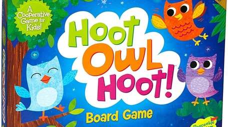 The board game Hoot Owl Hoot! gives kids