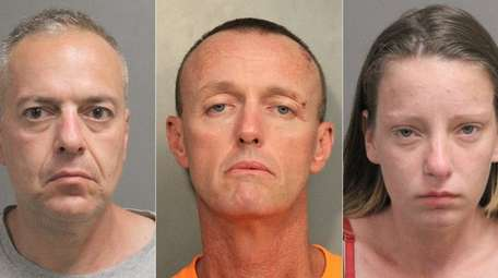 Nassau police said three suspects were arrested Tuesday,