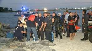 The body of missing swimmer Keith Johnson, 19,