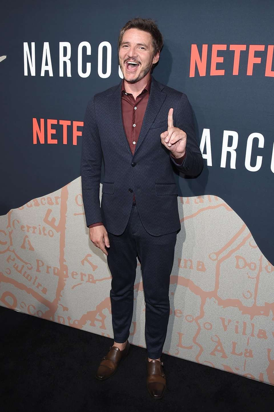 Pedro Pascal attends a screening of the Neflix