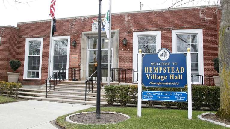Hempstead Village Hall is seen on Thursday, Feb.