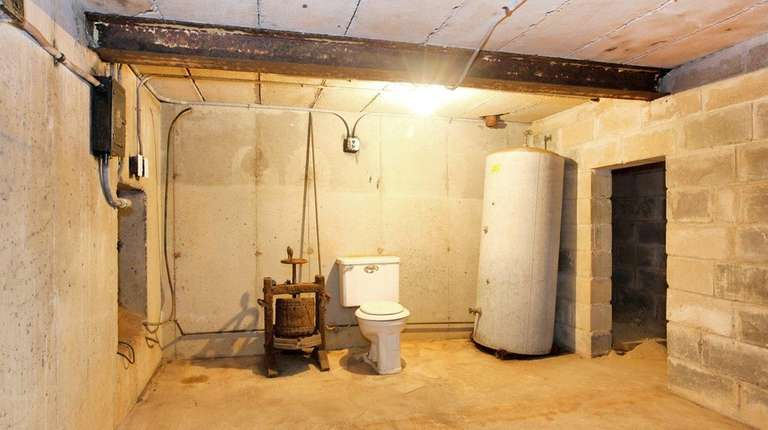 The bomb shelter was built in 1962 during