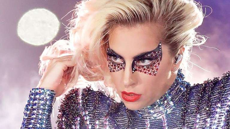 Lady Gaga's Super Bowl halftime performance was seen