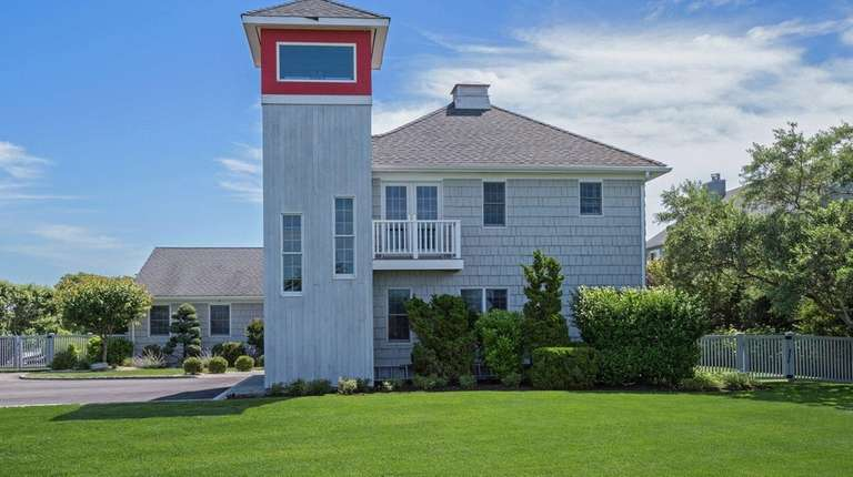 The Westhampton Beach home, designed by architect Lanny
