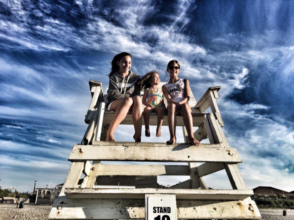 Emily Rothman, Alexa Van Guilder and Olivia Rothman
