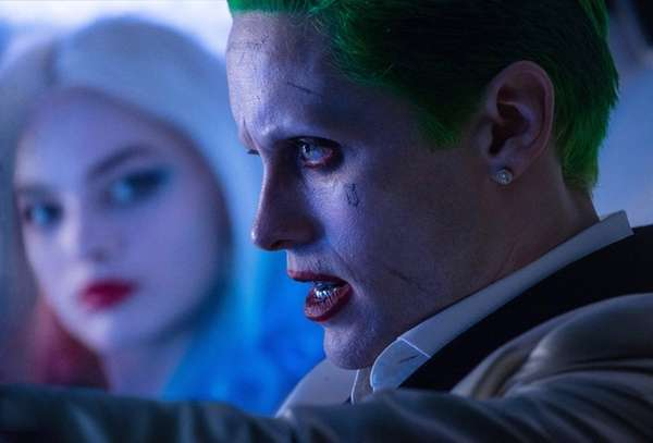 Margot Robbie and Jared Leto in