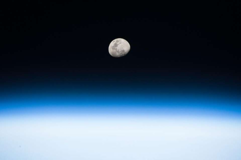 This image of the moon, released on Aug.