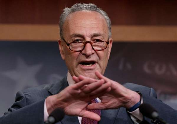 Schumer to Trump: you want to dismiss accusations of racism? Here's how
