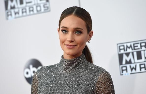 Model Hannah Davis, who's married to Derek Jeter,