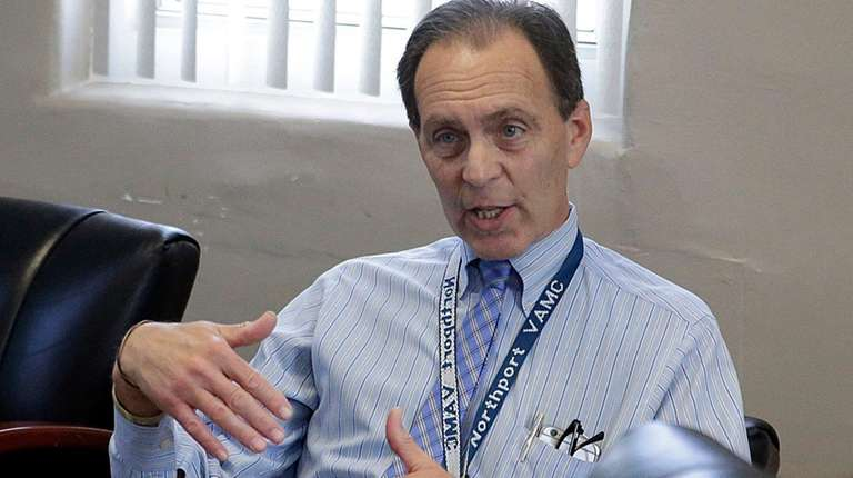 Dr. Mark Kaufman, chief of staff at the