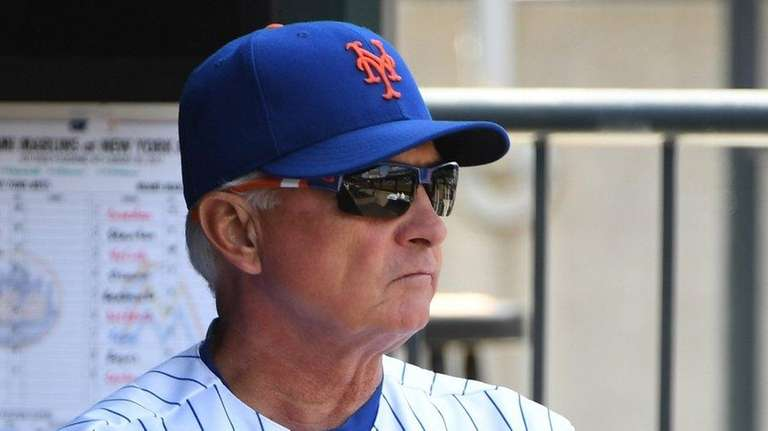 Mets manager Terry Collins said he will wait