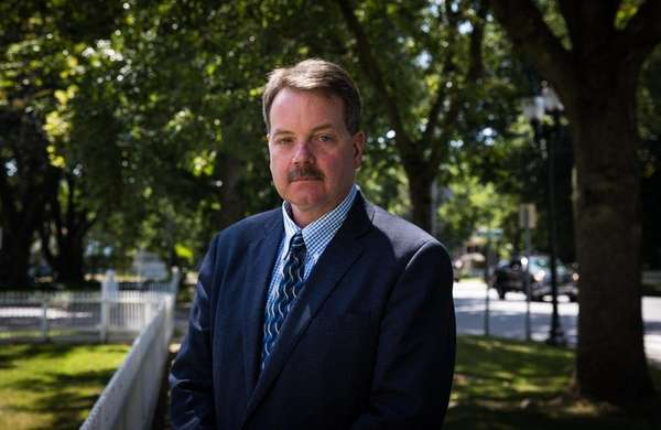Former East Hampton Village Police Chief Gerard Larsen