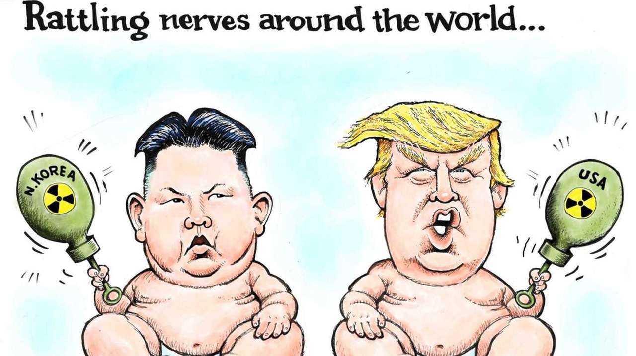 should cartoonists stop drawing donald trump as a baby