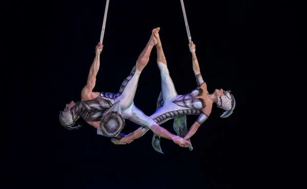 A scene from the Cirque du Soleil production
