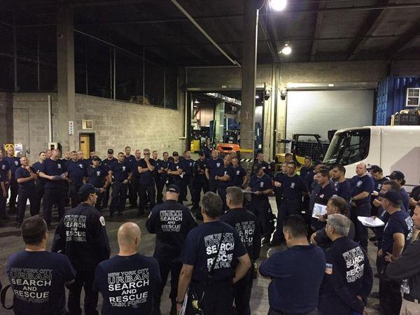New York City's 80-member Urban Search & Rescue