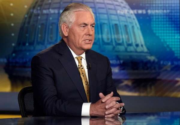 Tillerson on Trump's Charlottesville response: 'The president speaks for himself'