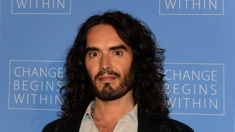 Actor and comedian Russell Brand married longtime partner
