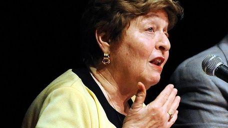 Former Stony Brook University President Shirley Strum Kenny
