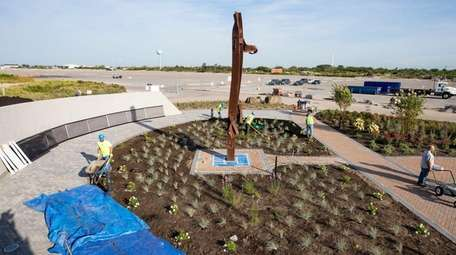 Hempstead Town's permanent Sept. 11 memorial in Point
