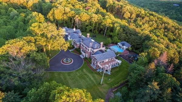 The 22,000-square-foot Cold Spring Harbor home has been
