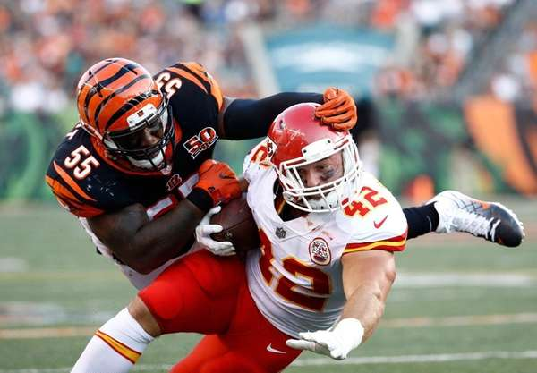 Bengals' Burfict fined for hit on Chiefs' Sherman