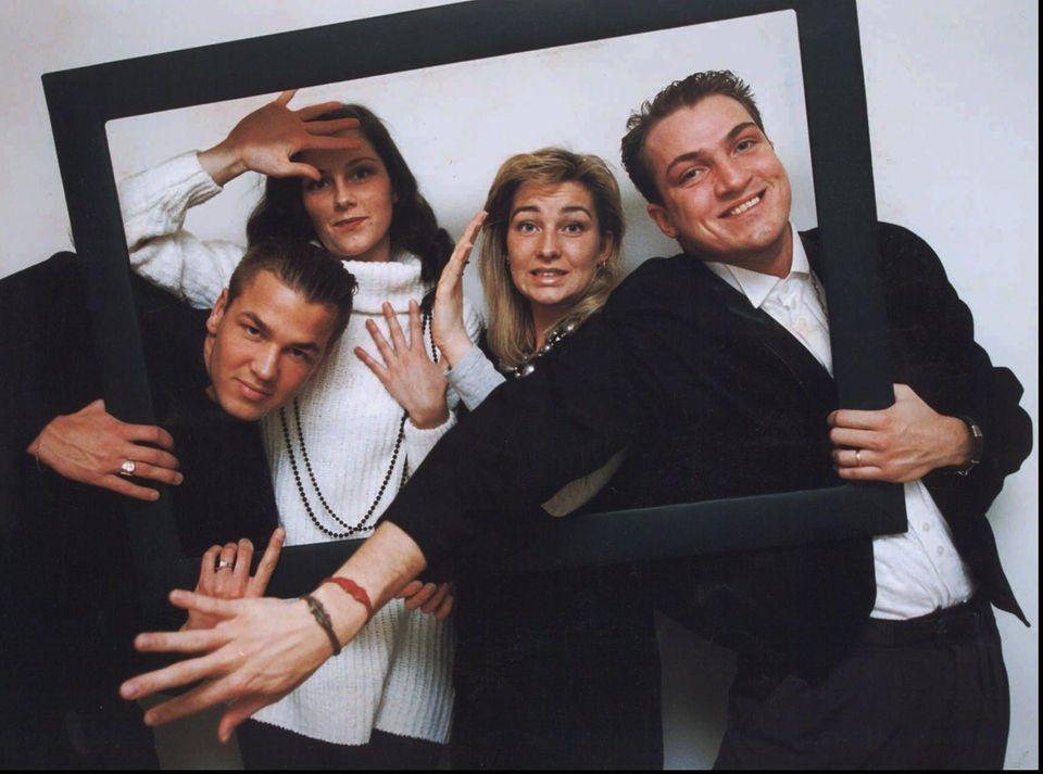 Swedish pop group Ace of Base dominated 1994