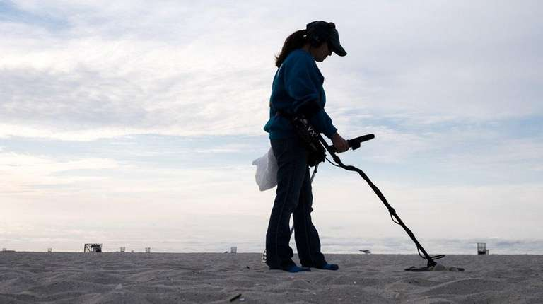 Treasure seeker and metal detector enthusiast Doreen Warwick,