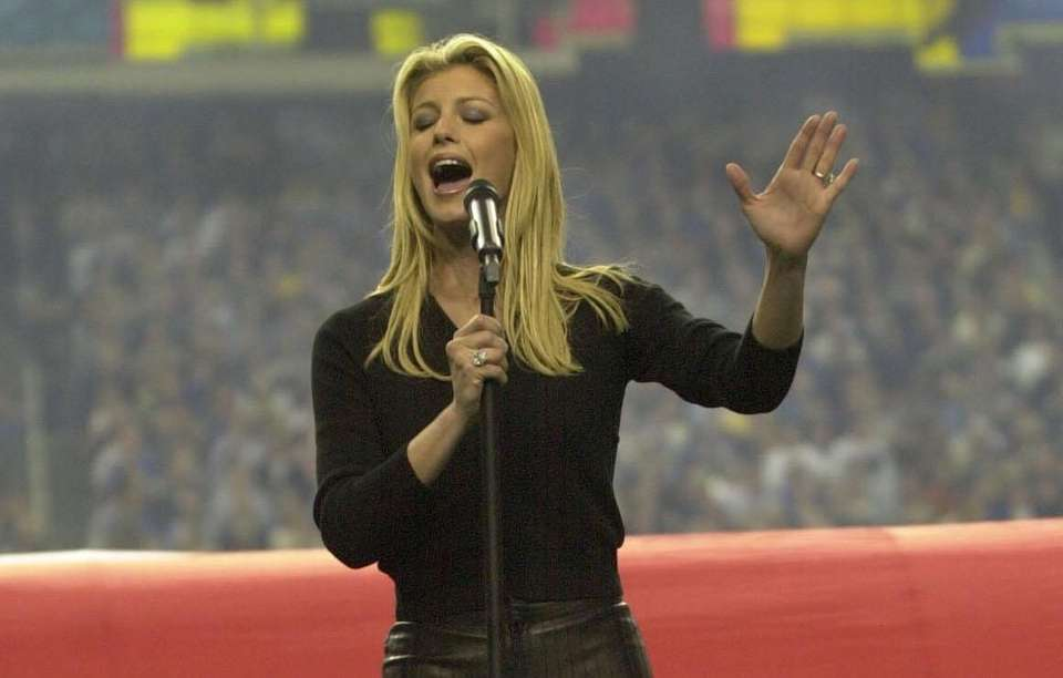 Country music star Faith Hill had the top