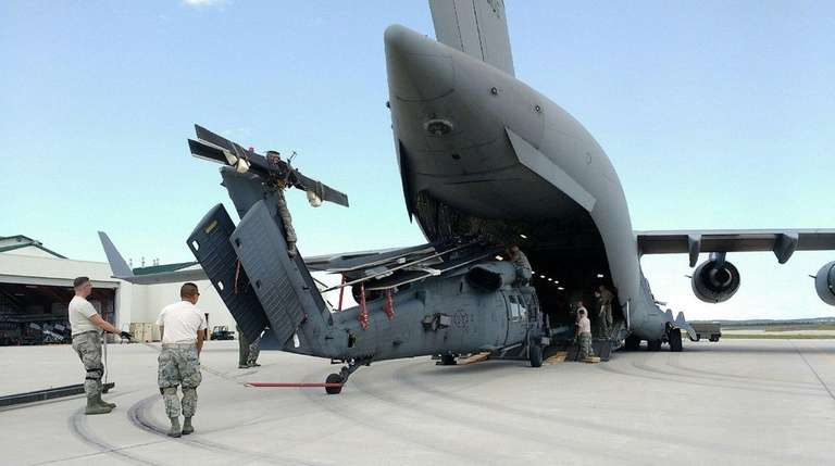 Members of the 106th Rescue Wing have been