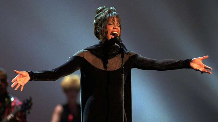 Whitney Houston was a frequent chart-topper but it
