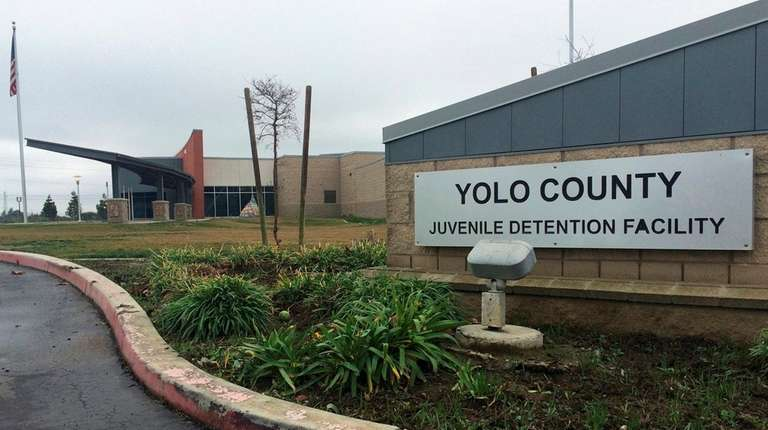 The Yolo County Juvenile Detention Facility in Woodland,