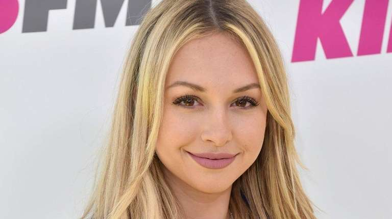 Reality-TV star Corinne Olympios said on