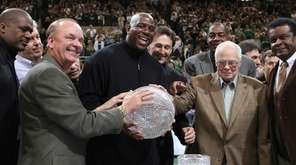 Members of Michigan State's 1979 NCAA championship team,
