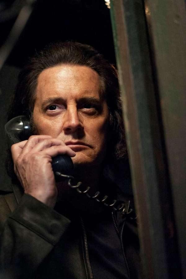Kyle MacLachlan took on more than one role