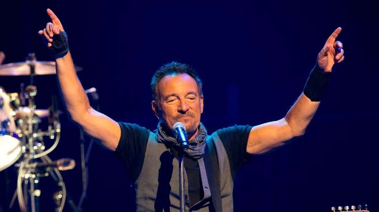 Bruce Springsteen with the E Street Band at