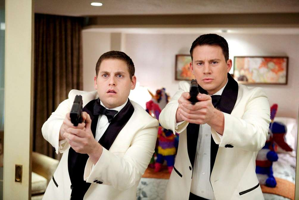 Jonah Hill, left, and Channing Tatum starred as