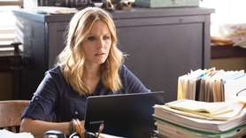 Kristen Bell reprises her title role as a