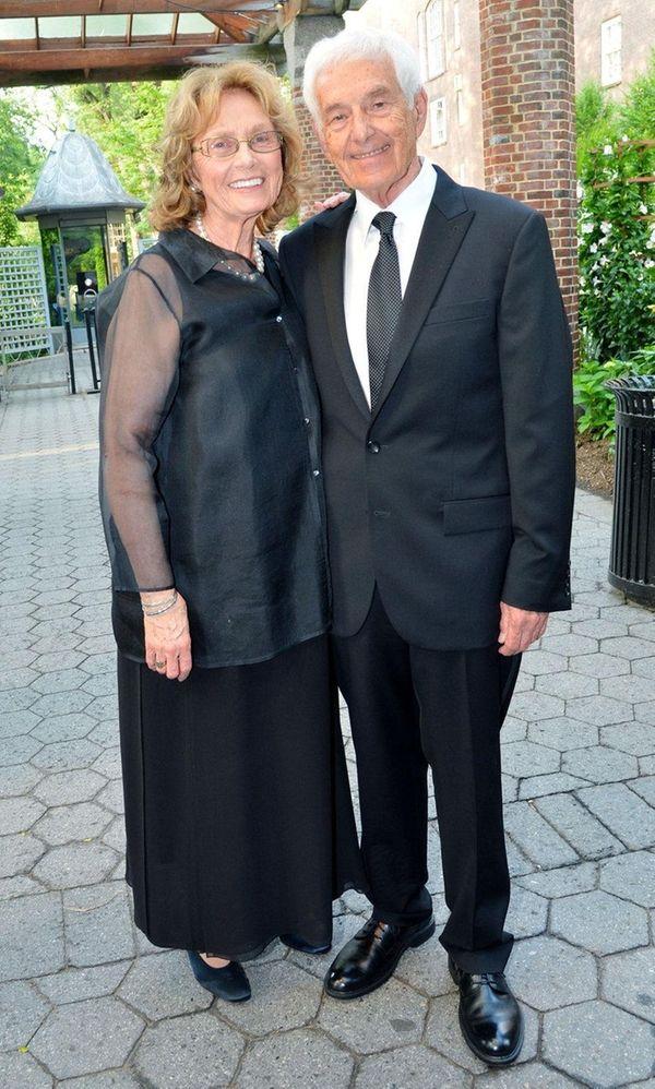 Real estate developer Donald Zucker and his wife,