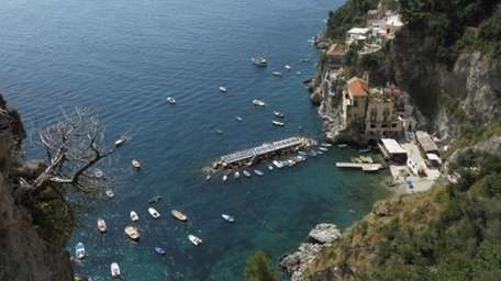 CONCA DEI MARINI, ITALY - JULY 25: Azur