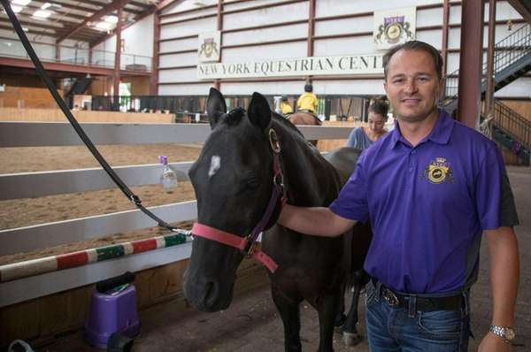 Alexander Jacobson, owner of The New York Equestrian