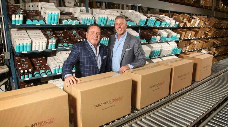 Paramount Beauty executives, president Evan Feingold, left, and