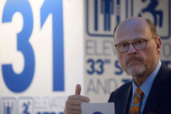 MTA chairman Joe Lhota said Wednesday, Aug. 30,